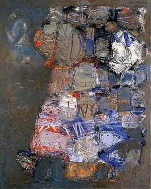 Stuart Sutcliffe - Hamburg Painting no. 2