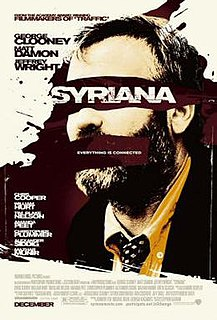 <i>Syriana</i> 2005 film directed by Stephen Gaghan