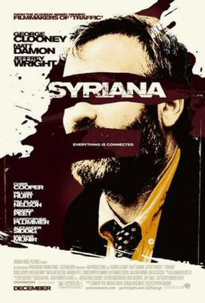 Syriana - Theatrical release poster