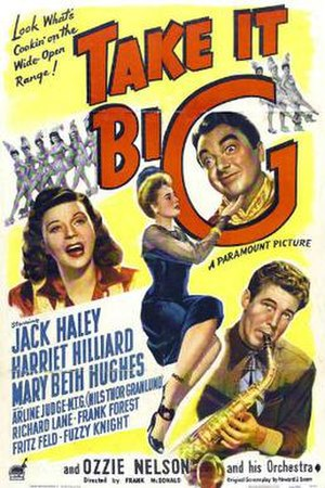 Take It Big - Theatrical release poster