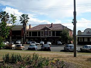 Tamworth, New South Wales - Tamworth Hotel in Marius Street