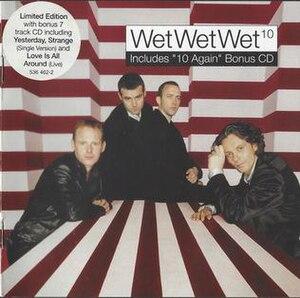 10 (Wet Wet Wet album) - Image: Ten Agains