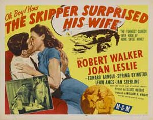 The Skipper Surprised His Wife - Theatrical release poster