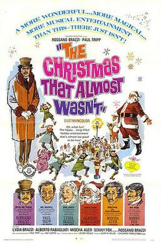 The Christmas That Almost Wasn't - Theatrical release poster