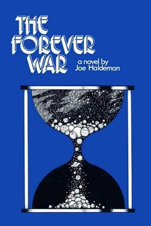 The Forever War - Cover of first edition (hardcover)