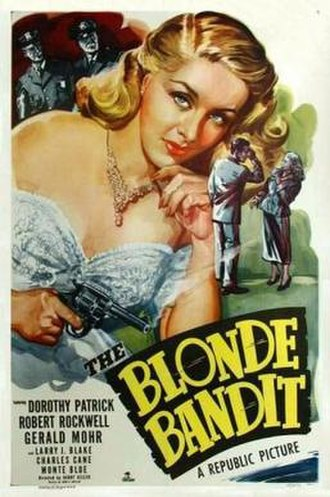 The Blonde Bandit - Theatrical release poster