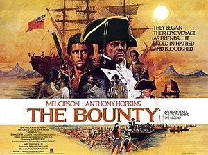 The Bounty (1984 film) - Theatrical release poster