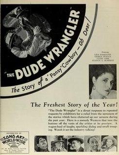 <i>The Dude Wrangler</i> 1930 film by Richard Thorpe