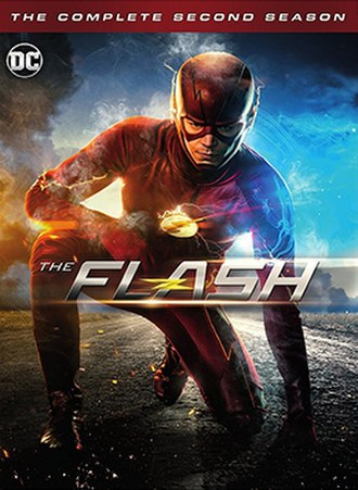 The Flash (season 2) - Home media cover