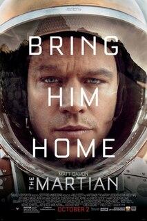 <i>The Martian</i> (film) 2015 film by Ridley Scott