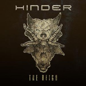 The Reign (Hinder album) - Image: The Reign cover