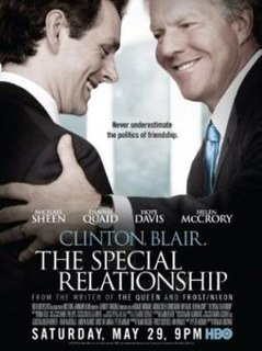 <i>The Special Relationship</i> (film) 2010 television film directed by Richard Loncraine
