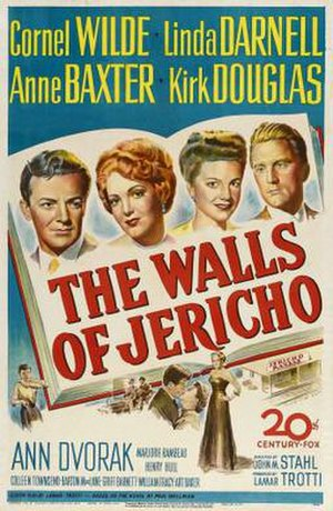 The Walls of Jericho (film) - Theatrical release poster