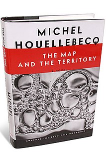 <i>The Map and the Territory</i> book by Michel Houellebecq