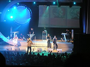 The Human League - Synth City Tour 2005.