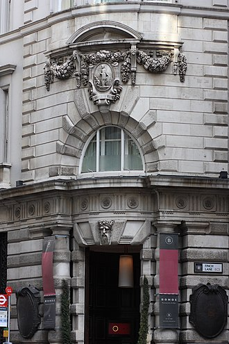 Midland Bank - Image: Threadneedle St head office of City Bank which became London, City & Midland Bank