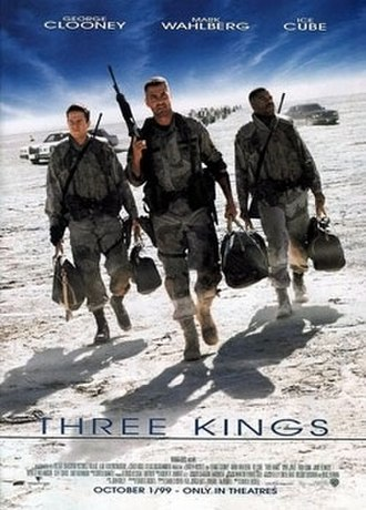 Three Kings (1999 film) - Theatrical release poster