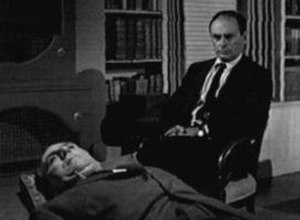 "The Twilight Zone - William Bendix and Martin Balsam in ""The Time Element"""