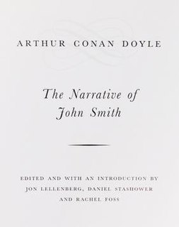 <i>The Narrative of John Smith</i>