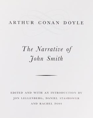 The Narrative of John Smith - Title page, The Narrative of John Smith