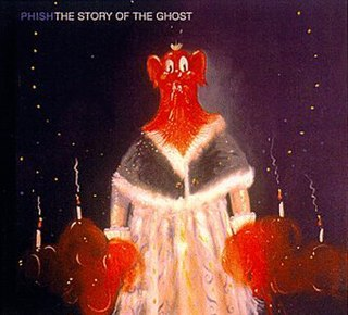 <i>The Story of the Ghost</i> 1998 studio album by Phish