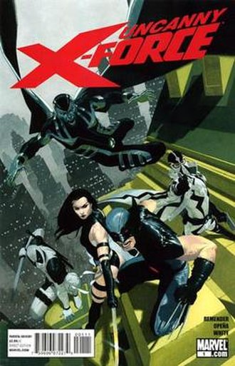 Uncanny X-Force - Image: Unc x force 01