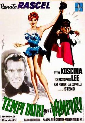 Uncle Was a Vampire - Italian film poster for Uncle Was a Vampire