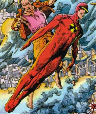 Solar (comics) - Valiant Comics' version of Solar by Barry Windsor-Smith.