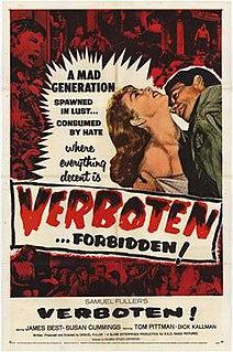 <i>Verboten!</i> 1959 film by Samuel Fuller