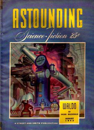 Waldo (short story) - 1942 original publication magazine cover