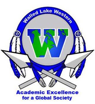 Walled Lake Western High School - Image: Walled Lake Western High School logo
