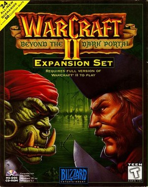 Warcraft II: Beyond the Dark Portal - Cover art