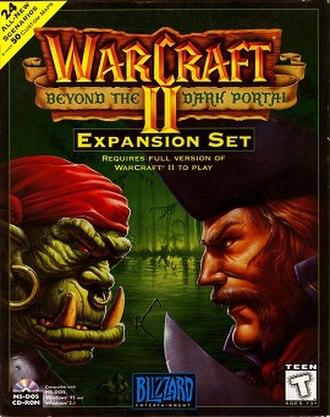 Warcraft II: Beyond the Dark Portal - Image: Warcraftii beyond the dark portal cover art
