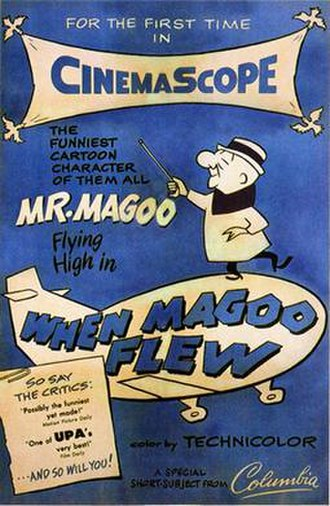 When Magoo Flew - Theatrical Poster for When Magoo Flew