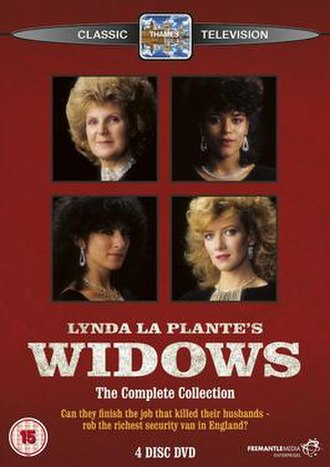 Widows (TV series) - DVD cover of Series One and Two