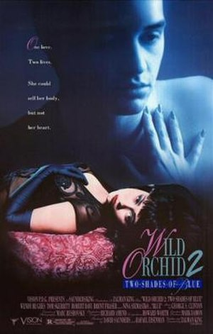 Wild Orchid II: Two Shades of Blue - Theatrical release poster