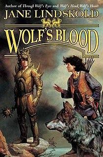<i>Wolfs Blood</i> book by Jane Lindskold