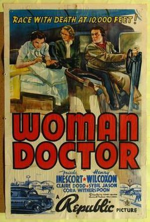 Woman Doctor - Theatrical poster for the film