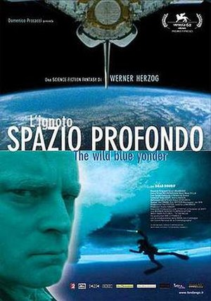 The Wild Blue Yonder - Poster for the Italian version