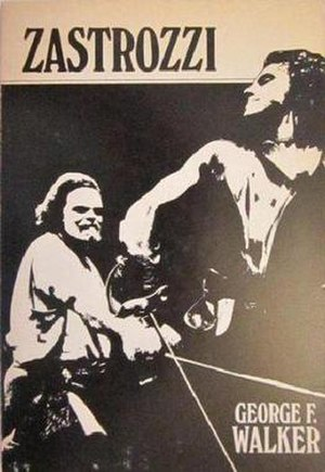 Zastrozzi, The Master of Discipline - The cover of the first edition, 1979.
