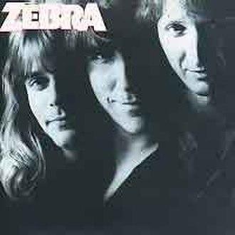 Zebra (Zebra album) - Image: Zebra Album