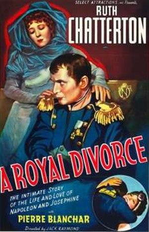 "A Royal Divorce (1938 film) - Image: ""A Royal Divorce"" (1938)"