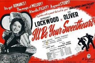 I'll Be Your Sweetheart - Original British trade ad