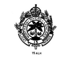 15th Light Horse Regiment (Australia) - 15th Light Horse Regiment hat badge