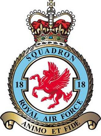 No. 18 Squadron RAF - 18 Squadron badge
