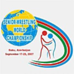 2007 World Wrestling Championships - Image: 2007 FILA Wrestling World Championships logo