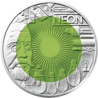 Carl Auer von Welsbach - Fascination Light commemorative coin