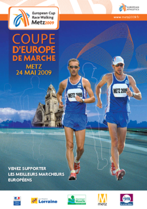 2009 European Race Walking Cup - Image: 2009 european cup race walking poster