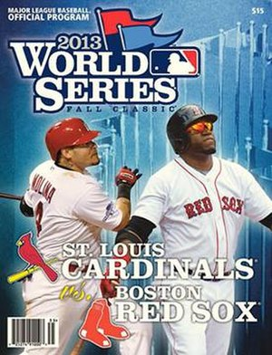 2013 World Series - Image: 2013 World Series Program