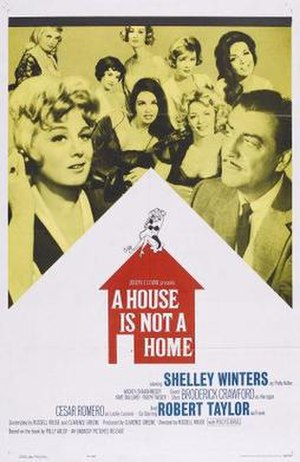 A House Is Not a Home (film) - Image: A House Is Not A Home 1964Poster